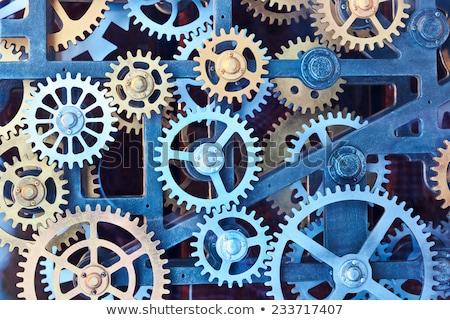 Résumé acier roue roues Photo stock © impresja26
