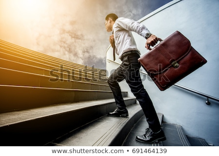 Iş basamak adımlar modern başarı seçenekleri Stok fotoğraf © alescaron_rascar