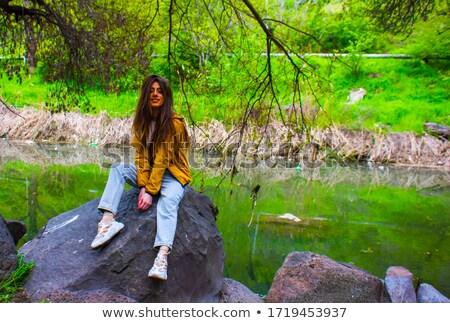 daddy · gambe · lunghe · verde · natura · foresta - foto d'archivio © nejron