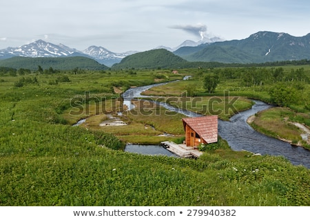 nalychevo nature park kamchatka far east russia stock photo © amok