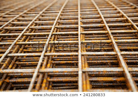 bar · Mesh · Dach · Bau · Baustelle · Haus - stock foto © franky242
