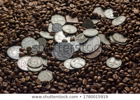 Two Soviet Union Coins on a Black Background. Stock photo © tashatuvango