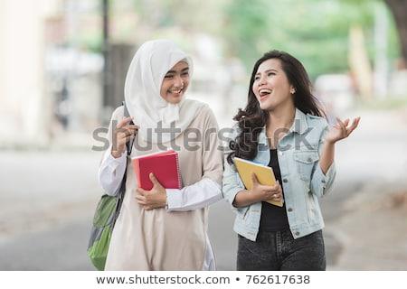 southeast asian college student stock photo © szefei