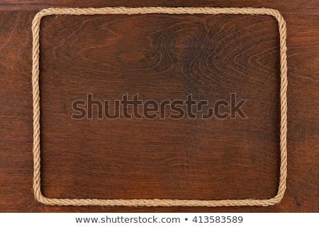 Quadro corda mentiras superfície lugar Foto stock © alekleks