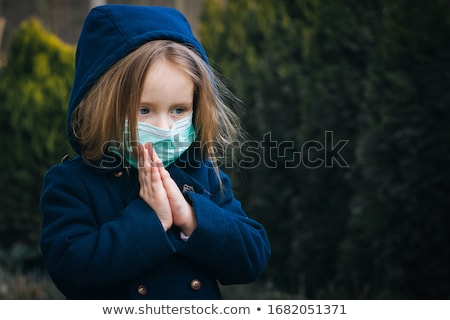 beautiful girl praying stock photo © anna_om
