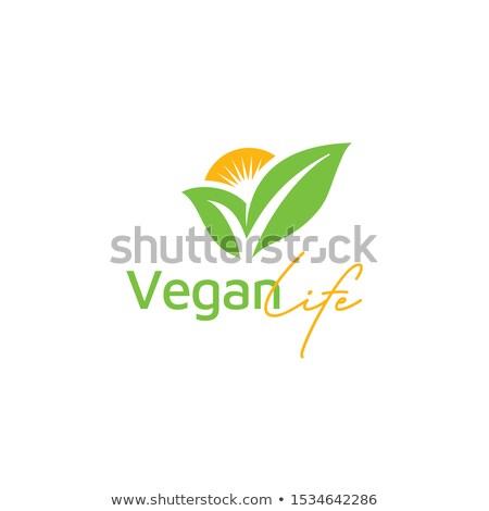 Wektora logo pomarańczowy sprawdzić ocena witaminy Zdjęcia stock © butenkow