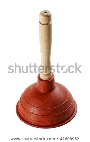 fine image of classic rubber plunger Stock photo © ozaiachin