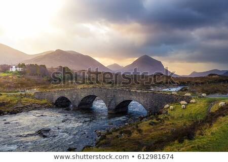 Sligachan Bridge, Scotland Stock photo © photopb