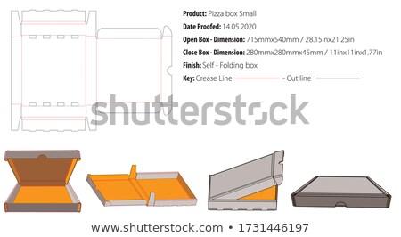 Szalámi zárolt izolált fehér stop diéta Stock fotó © fuzzbones0