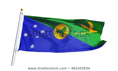 flag of Territory of Christmas Island Stock photo © Istanbul2009