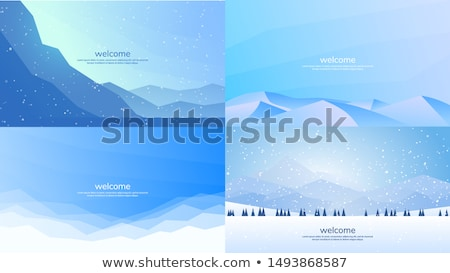 Abstract background - Set of simple light and clear geometry ele Stock photo © kaikoro_kgd