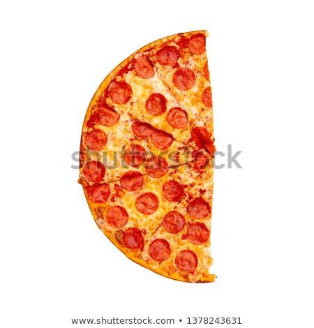 пиццы · иллюстрация · полезный - Сток-фото © elgusser