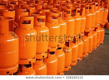 Propane gas cylinder Stock photo © djdarkflower