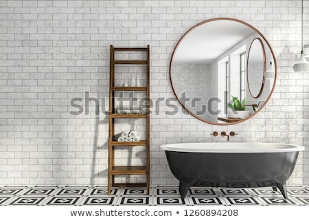 Minimalistic bathroom Stock photo © jrstock