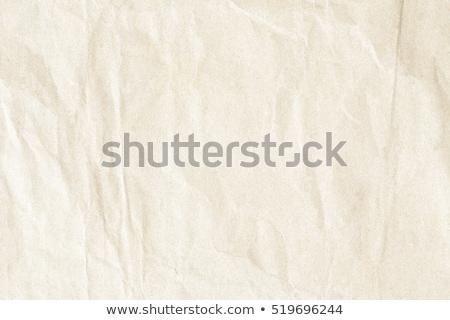 Crumpled brown kraft paper texture Stock photo © stevanovicigor