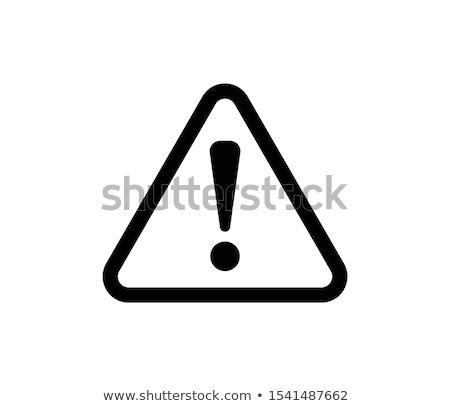 Hazard Sign Icons Stock photo © ayaxmr