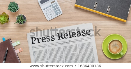 Press Release Stock photo © Lightsource