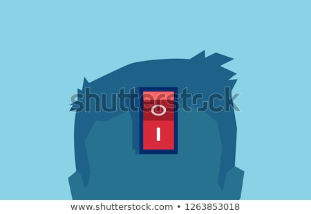 ボタン · 内部 · カラフル · 白 · 背景 - ストックフォト © bluering