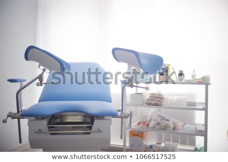 Gynecological chair in gynecological room Stock photo © nenovbrothers