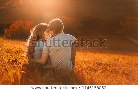 girlfriends kissing stock photo © sapegina