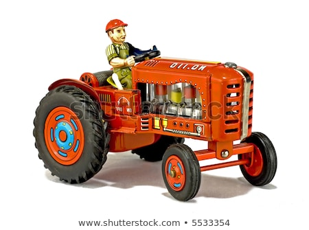 Collectible antique toy tractor Stock photo © Digifoodstock