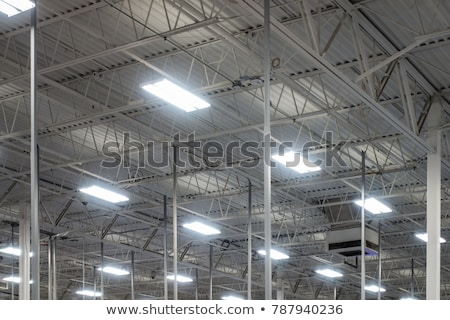 Industrial lights Stock photo © tracer