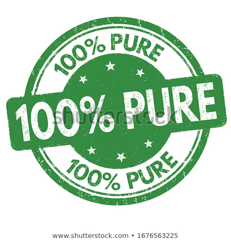 100 pure tag stock photo © get4net
