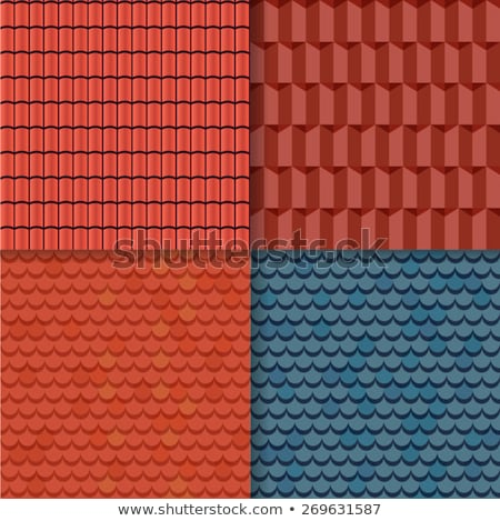 Various roof tiles Stock photo © simply