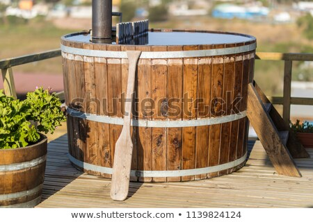 Rustic hotpool. stock photo © gregepperson