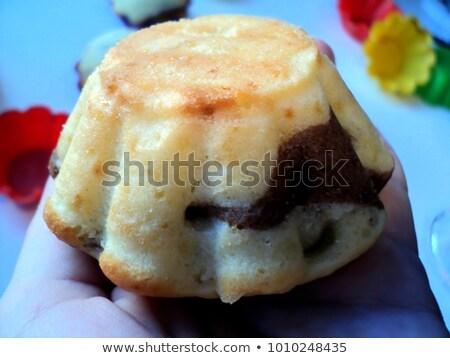 pond · cake · zebra · voedsel · achtergrond · ontbijt - stockfoto © jarp17