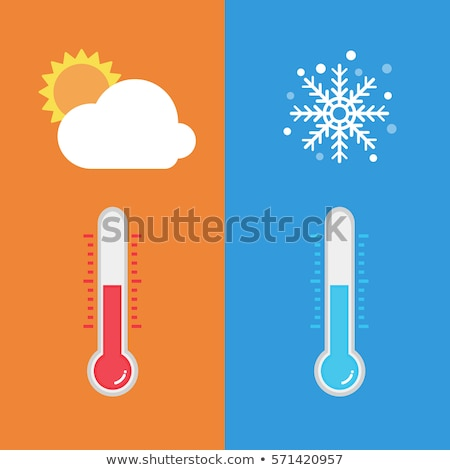 Cold To Hot Weather Stock photo © Lightsource