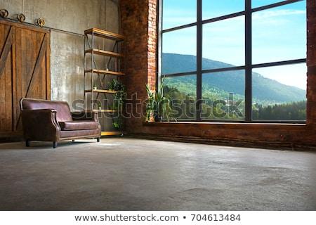 nierówny · pokój · wyblakły · deska · pusty - zdjęcia stock © swillskill