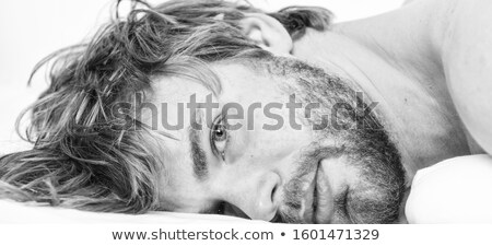 Sleeping handsome man Stock photo © andreasberheide