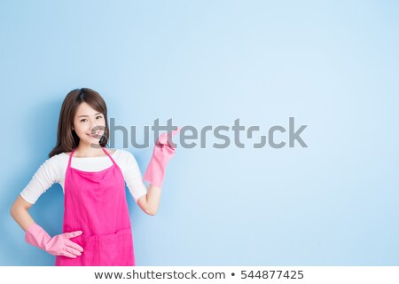 mujer · de · negocios · algo · mano · moderna · mujer - foto stock © rastudio