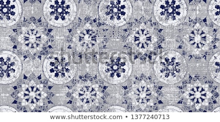 Abstract vintage damask pattern Stock photo © fresh_5265954