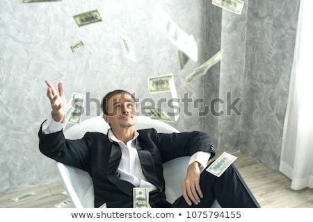 gelukkig · zakenlieden · werkplek · elektronische · kantoor - stockfoto © wavebreak_media