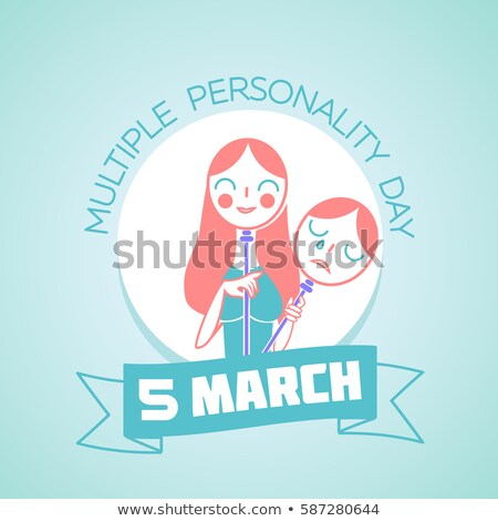 5 March Multiple Personality Day Stock photo © Olena