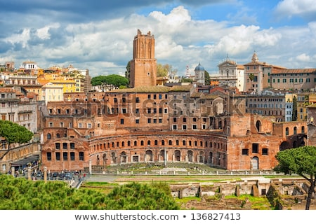древних · рынке · Рим · Италия · здании · лет - Сток-фото © ankarb