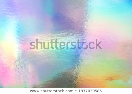 Light Iridescent Holographic Foil Texture Stock photo © solarseven