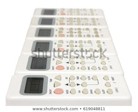 Távoli infravörös eszközök csetepaté izolált fehér Stock fotó © Mikko