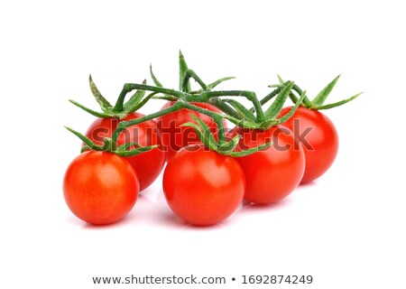 Kiraz domates ahşap grup sebze Stok fotoğraf © Digifoodstock