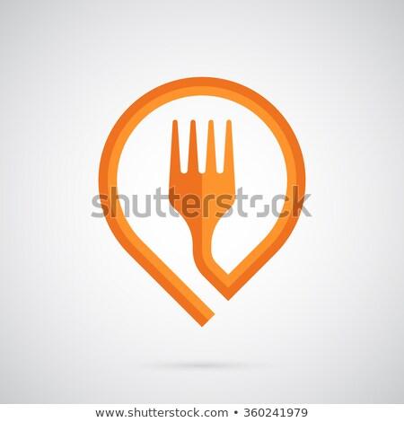 meisje · fast · food · kassier · illustratie · vrouwelijke · fastfood · restaurant - stockfoto © decorwithme
