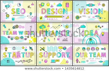 商業照片: 業務 · 創意 · 線性 · 海報 · 集 · 現代