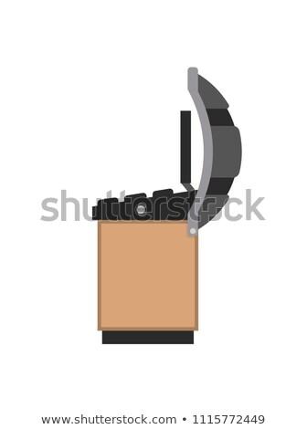 Foto stock: Neumáticos · herramienta · colorido · vector · banner