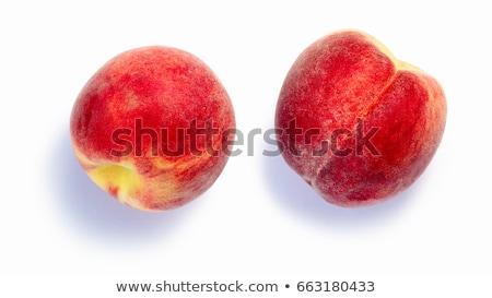 Belirsiz şeftali üst görmek meyve bütün Stok fotoğraf © maxsol7