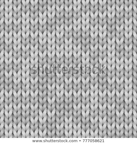Grey knitted texture stock photo © Lana_M