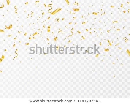 2020 Confetti Golden Confetti Night Stock photo © limbi007