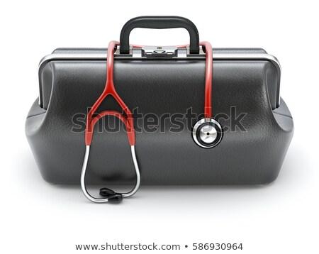 lekarza · egzaminy · niemowlę · stetoskop · człowiek · medycznych - zdjęcia stock © hofmeester