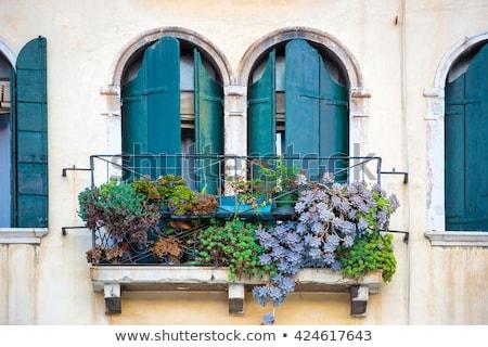 starych · włoski · toskański · dekoracyjny · ściany · tle - zdjęcia stock © marylooo