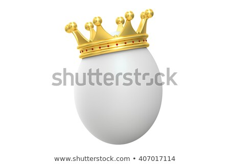 Oeuf or couronne 3D illustration Photo stock © djmilic